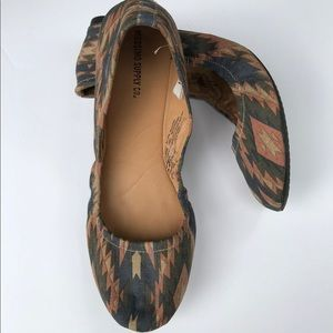 Mossimo Supply Co. Shoes - Aztec ballet flats